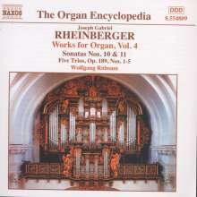 Josef Rheinberger (1839-1901): Sämtliche Orgelwerke Vol.4, CD