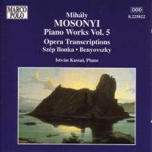 Mihaly Mosonyi (1815-1870): Klavierwerke, CD