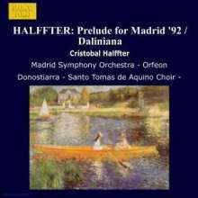 Cristobal Halffter (geb. 1930): Veni Creator Spiritus, CD