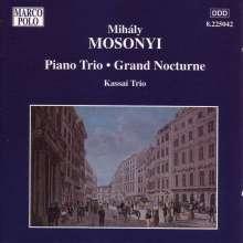 Mihaly Mosonyi (1815-1870): Klaviertrio op.1, CD