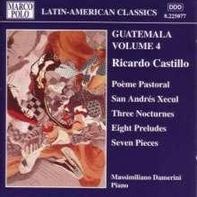Ricardo Castillo (1894-1966): Klavierwerke, CD