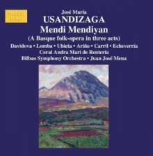 Jose Maria Usandizaga (1887-1915): Mendi Mendiyan (baskische Volksoper), 2 CDs