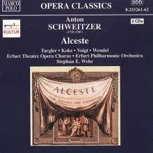 Anton Schweitzer: Alceste (Wehr, Erfurt P, 2 CDs