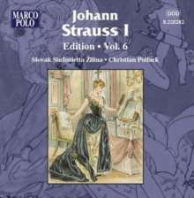 Johann Strauss I (1804-1849): Johann Strauss Edition Vol.6, CD