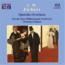 Carl Michael Ziehrer (1843-1922): Operetten-Ouvertüren, CD