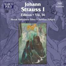 Johann Strauss I (1804-1849): Johann Strauss Edition Vol.16, CD