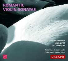 Arne Balk-Möller - Romantic Violin Sonatas, CD