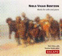Niels Viggo Bentzon (1919-2000): Sonaten für Cello & Klavier Nr.3 & op.43, CD