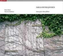 Niels Peter Jensen (1802-1846): Duos für 2 Flöten op.4 Nr.1 & 3 & op.11 Nr.2 & 3, CD