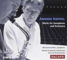 Anders Koppel (geb. 1947): Saxophonkonzerte Nr.1 & 2, CD