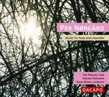 Per Nörgard (geb. 1932): Werke für Harfe & Ensemble, CD