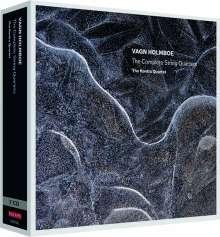 Vagn Holmboe (1909-1996): Streichquartette Nr.1-20, 7 CDs