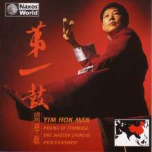 China - Yim Hok-Man:Poems Of Thunder, CD