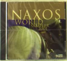 Naxos World Sampler 2001, CD