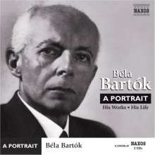 Bela Bartok (1881-1945): Bela Bartok - A Portrait, 2 CDs