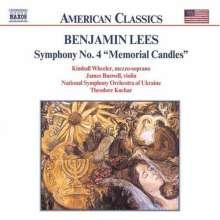 Benjamin Lees (1924-2010): Symphonie Nr.4, CD
