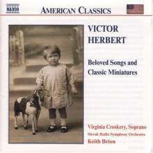 Victor Herbert (1859-1924): Orchesterstücke & Songs, CD