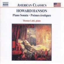 Howard Hanson (1896-1981): Klavierwerke, CD