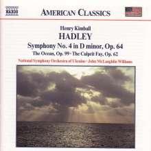 Henry Kimball Hadley (1871-1937): Symphonie Nr.4 op.64, CD