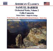 Samuel Barber (1910-1981): Cellokonzert op.22, CD