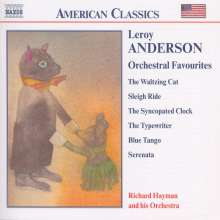 Leroy Anderson (1908-1975): Leroy Anderson Orchestral Favourites, CD