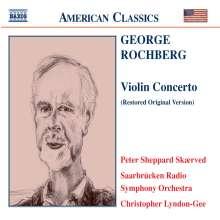 George Rochberg (geb. 1918): Violinkonzert, CD