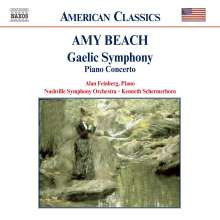 "Amy Beach (1867-1944): Symphonie e-moll op.32 ""Gaelic"", CD"