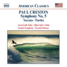 Paul Creston (1906-1985): Symphonie Nr.5, CD