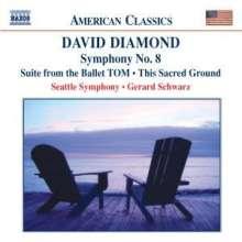 David Diamond (geb. 1915): Symphonie Nr.8, CD