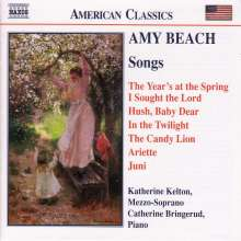 Amy Beach (1867-1944): Lieder, CD