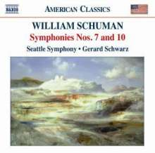 William Schuman (1910-1992): Symphonien Nr.7 & 10, CD