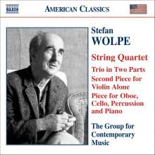 Stefan Wolpe (1902-1972): Streichquartett, CD