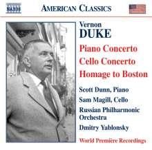 Vernon Duke (1903-1969): Klavierkonzert, CD