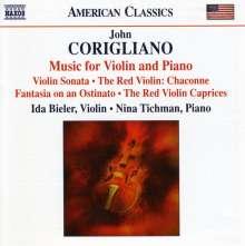 John Corigliano (geb. 1938): Sonate für Violine & Klavier, CD