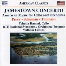 Yehuda Hanani - Jamestown Concerto, CD