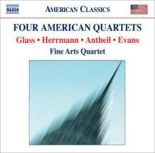 Fine Arts Quartet - Four American Quartets, CD