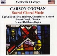 Carson Cooman (geb. 1982): Geistliche Chorwerke, CD