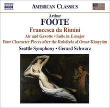 Arthur Foote (1853-1937): Francesca da Rimini op.24, CD
