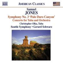 "Samuel Jones (geb. 1935): Symphonie Nr.3 ""Palo Duro Canyon"", CD"