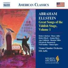 Great Songs of the Yiddish Stage Vol.1, CD
