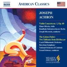 Joseph Achron (1886-1943): Violinkonzert Nr.1, CD