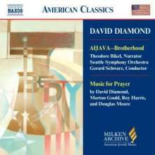 David Diamond (geb. 1915): Ahava, CD