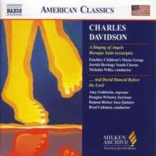 Charles Davidson (geb. 1929): And David Danced Before the Lord, CD
