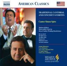 Cantor S.Spiro - Traditional Cantorial & Concert Favorites, CD