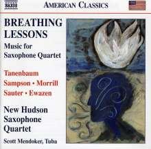 New Hudson Saxophone Quartet - Breathing Lessons, CD