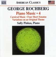 George Rochberg (geb. 1918): Klaviermusik Vol.4, CD