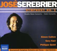 Jose Serebrier (geb. 1938): Symphonie Nr.1, CD