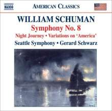William Schuman (1910-1992): Symphonie Nr.8, CD