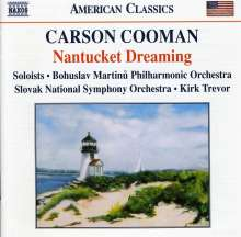 Carson Cooman (geb. 1982): Nantucket Dreaming, CD