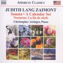 Judith Lang Zaimont (geb. 1945): Klaviersonate (1999-2000), CD